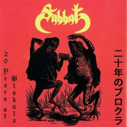 Sabbat - 20 years Live of Blokula CD + poster