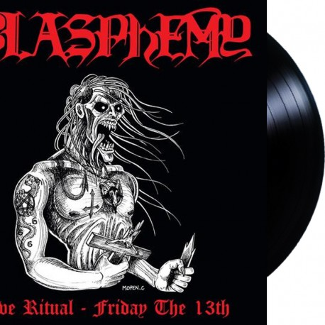 Blasphemy - Live Ritual: Friday the 13th LP