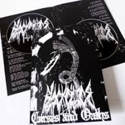Black Cilice - Curses and Oaths A5-book + DCD