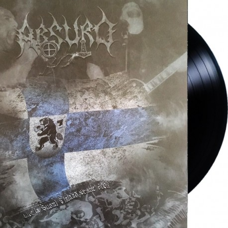 Absurd – Live in Suomi Finland Perkele 2008 LP (restock)