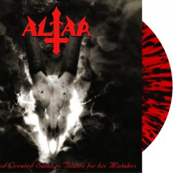 Altar - And God Created Satan to Blame for his Mistakes - LP (RED/BLACK splatter)