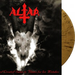 Altar - And God Created Satan to Blame for his Mistakes - LP (GOLD/BLACK splatter)