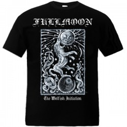 Fullmoon - The Wolfish Initiation T-shirt