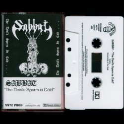 Sabbat - The Devil's Sperm is Cold TAPE