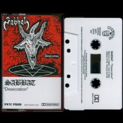 Sabbat - Desecration TAPE