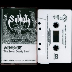 Sabbat - The Seven Deadly Sins TAPE