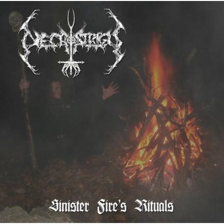 """Necrostrigis - Sinister Fire's Ritual 7"""" EP"""