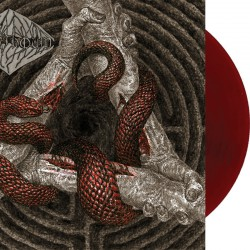 Israthoum ‎– Black Poison And Shared Wounds LP (Oxblood red vnyl)