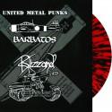 "Barbatos / Blizzard – United Metal Punks 10"" MLP (red-black splatter vinyl ltd. 200)"