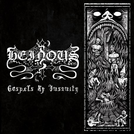 Heinous - Gospels of Insanity CD