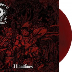 The Spirit Cabinet - Bloodlines LP (Red-black vinyl - restock)
