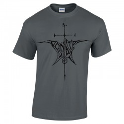 Pentacle - Sigil Logo charcoal T-shirt