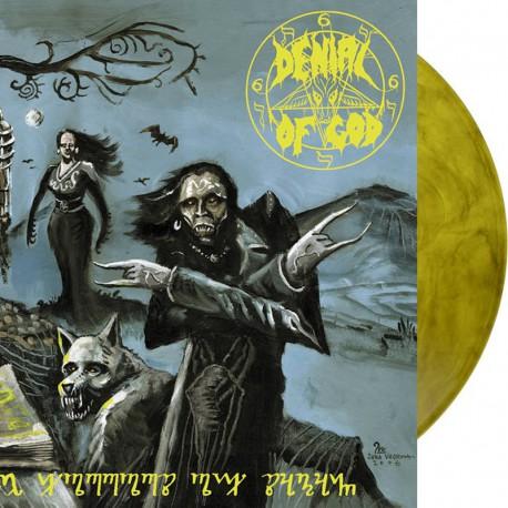 Denial of God - The Horrors of Satan DLP (yellow-smoke vinyl)