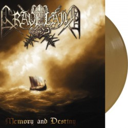 Graveland - Memory and Destiny LP (Gold vinyl)