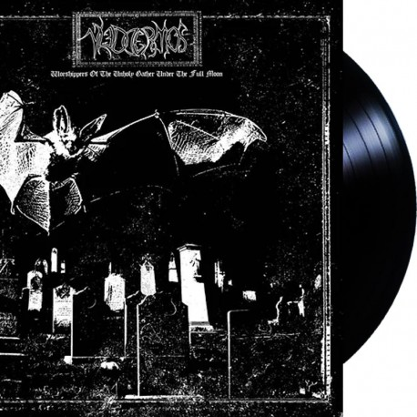 Vleddermos  – Worshippers of the Unholy Gather Under the Fullmoon LP