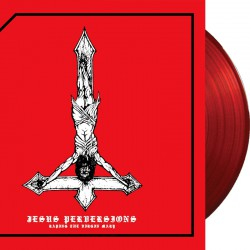 Azazel - Jesus Perversions LP (RED vinyl)