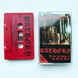 Bathory - Under the Sign of the Black Mark TAPE