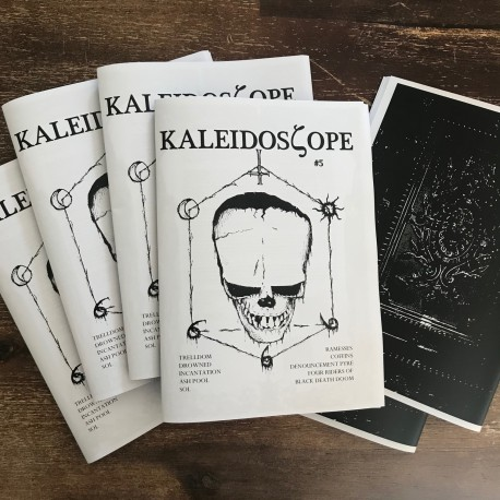 Kaleidoscope 'zine 5 - Trelldom, Ash Pool, SOL, Incantation, Drowned etc.