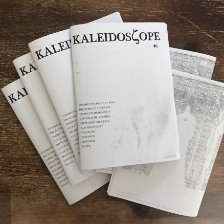Kaleidoscope 'zine 6 - Celestial Bloodshed, Drowning the Light, Manes, Lonndom, Vassafor, Fossbrenna Productions,