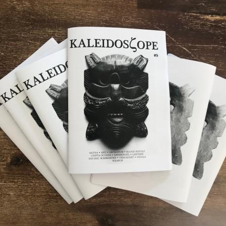 Kaleidoscope 'zine 9 - Akitsa, Arckanum, Satanic Warmaster, Vetala, Dodsengel, Cripta Occulta, Anu etc.