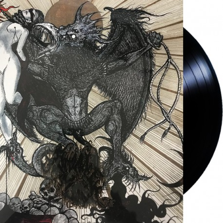 Reek of the Unzen Gas Fumes x Scatmother / Grizzly Fetish / Nigamushi - Split LP