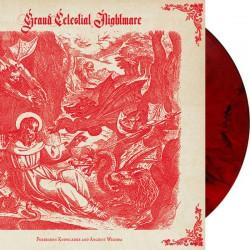 Grand Celestial Nightmare - Forbidden Knowledge and Ancient Wisdom LP (Red/black-marble vinyl)