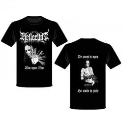 Helleruin - War Upon Man T-shirt