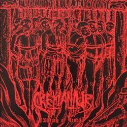 """Cremantur - Victory of Cruelty 7"""" EP (Red vinyl)"""
