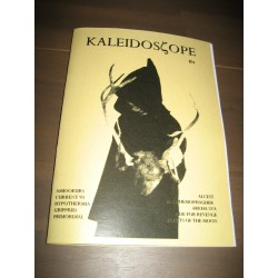 Kaleidoscope 4 magazine w. Ride for Revenge, Secrets of the Moon, Current 93 etc