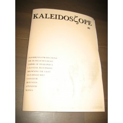 Kaleidoscope 6 magazine w. The Ruins of Beverast, Celestial Bloodshed, Vassafor, Manes etc