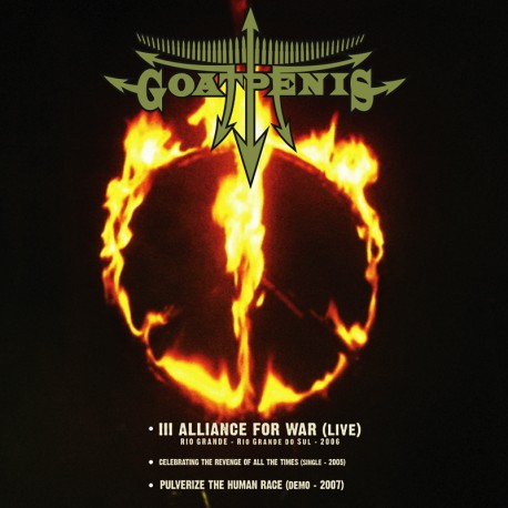 GOATPENIS - Alliance for War double-CD/DVD