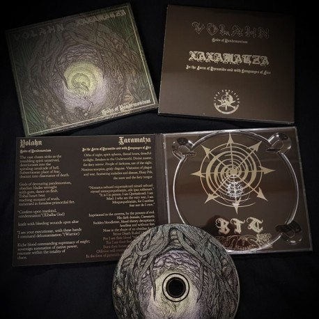 VOLAHN / XAXAMATZA - Gods of Pandemonium Split Digipak-CD