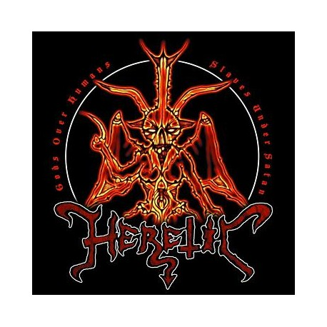 Heretic - Gods over Humans, Slaves under Satan CD