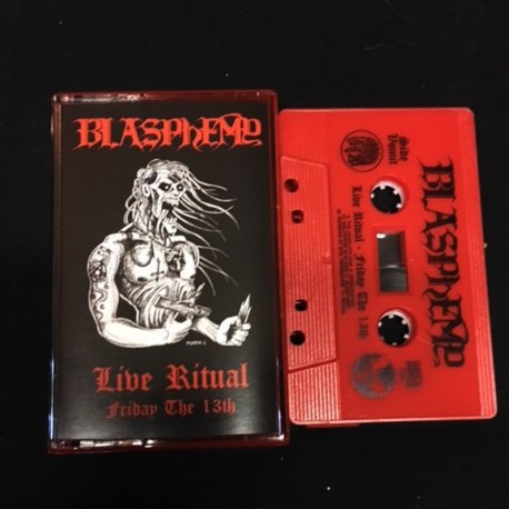 Blasphemy - Live Ritual: Friday the 13th TAPE