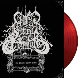 Old Burial Temple - His Majesty  Upside Down LP (red)