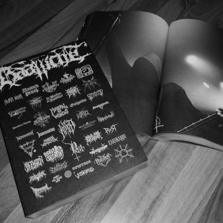 Haallicht Book/Mag 544 A4 pages w. Funeral Winds, Faceless Entity, Pvertered Ceremony, Sadomator, Ride for Revenge etc.