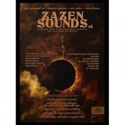 ZaZen Sounds magazine Vol.4 (restock) w. Vassafor, Hetroertzen, Amsetigon, Spiritual Front, Grafvitnir etc